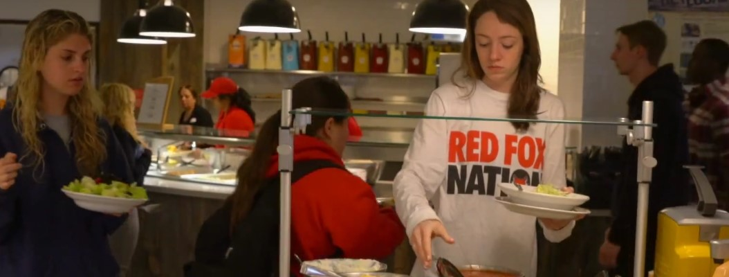 """Dining Services """"Ranked Top 20 College Dining Halls in the Country"""""""